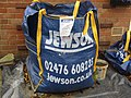 -2019-11-06 Jewson grab-bag of building sand, Trimingham.JPG