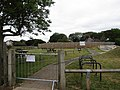 -2020-07-01 COVID-19 closed fitness trail, Gold Park, Mundesley.JPG