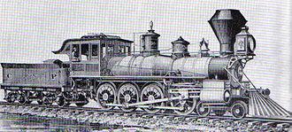 4-8-0 - CPR no. 229, the Mastodon of 1882