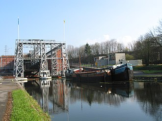 Boat Lifts on the Canal du Centre - Houdeng-Goegnies: lift no. 1