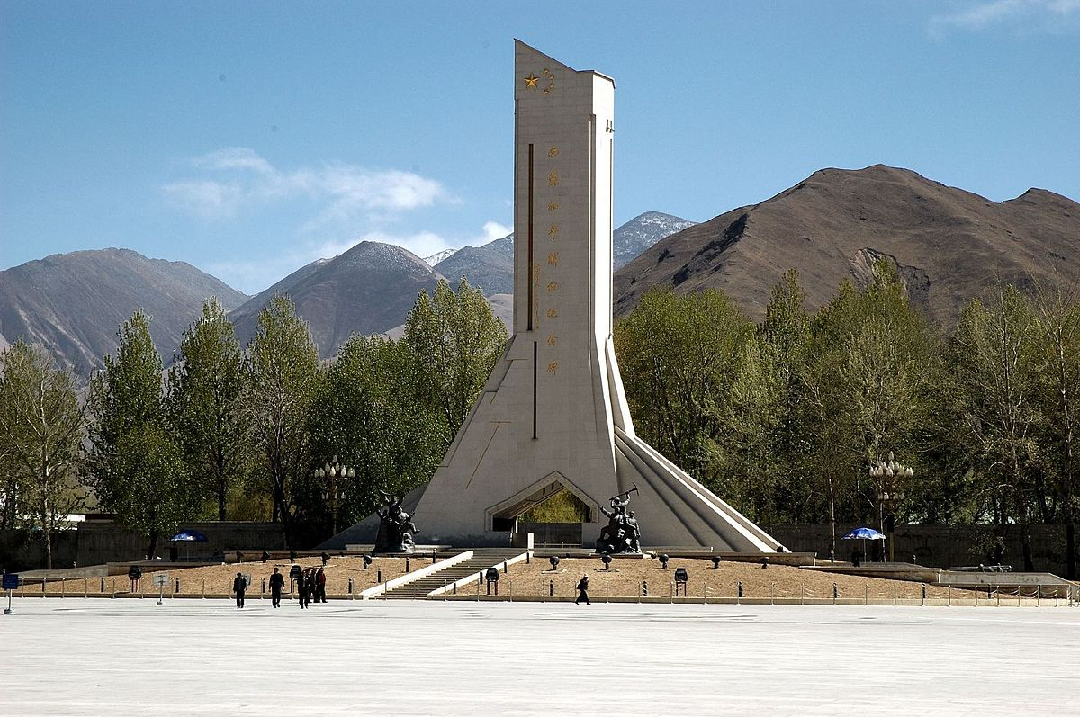 Monument to the Peaceful Liberation of Tibet - Wikipedia