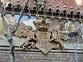 028 Hospital de Sant Pau, edifici d'Administració, c. Sant Antoni M. Claret, escut de l'hospital.JPG