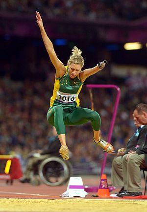 T47 (classification) - Australian long jumper Carlee Beattie is a T47 athlete.