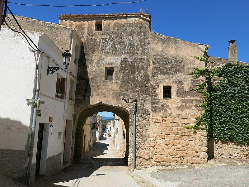 050 Portal del Clos (Montferri), cara exterior.jpg