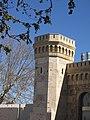 053 Sant Miquel dels Reis (València), torre del portal d'accés al recinte.jpg
