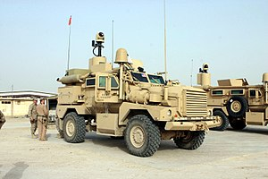 Cougar (vehicle) - Cougar in service with a US Marine unit in Iraq