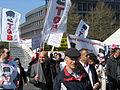 1. Mai 2013 in Hannover. Gute Arbeit. Sichere Rente. Soziales Europa. Umzug vom Freizeitheim Linden zum Klagesmarkt. Menschen und Aktivitäten (157).jpg
