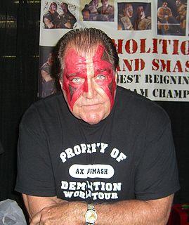 Ax (wrestler) American professional wrestler