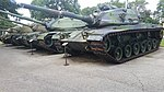 105 mm Gun Full Tracked Combat Tank M60A1-M60A3 Texas Military Forces Museum.jpg