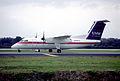 10ce - USAir Express DHC-8-202 Dash 8; N988HA@TPA;27.01.1998 (6116242630).jpg