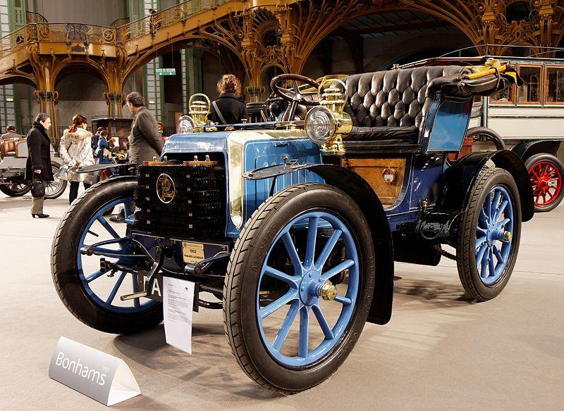 File:110 ans de l'automobile au Grand Palais - Panhard et Levassor 7 CV bicylindre Voiturette par Clément-Rothschild - 1902 - 008.jpg