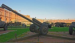 122 mm howitzer 2A18 (D-30) - D-30 122 mm howitzer.