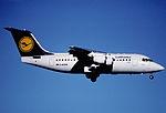 122as - Lufthansa Cityline Avro RJ 85, D-AVRM@ZRH,28.01.2001 - Flickr - Aero Icarus.jpg