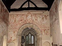 12th-century paintings of Last Judgement (Clayton Church, Sussex)