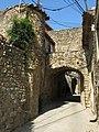 135 Carrer de Sant Esteve (Madremanya), portal oest de la muralla, cara exterior.jpg