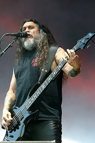 Tom Araya - Tom Araya performing live with Slayer in 2014