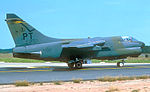 146th Tactical Fighter Squadron Ling-Temco-Vought A-7D-13-CV Corsair II 72-0232.jpg