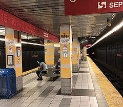 15–16th & Locust station PATCO Speedline station