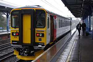 Sprinter (train) - Abellio Greater Anglia Class 153 at Ipswich