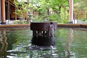 Shibata, Niigata - Image: 160717 Tsukioka Onsen Shibata Niigata pref Japan 02s 3