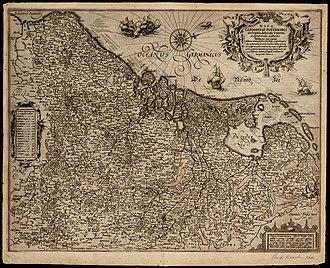 Petrus Bertius - Image: 1614 Nova Germaniae Bertio