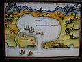 1626年荷蘭人大員港口圖(18世紀西班牙重繪).JPG