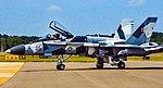 "163105 F A-18A+ Hornet Fighter Squadron Composite Twelve (VFC-12) ""Fighting Omars"" (31067375768).jpg"