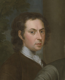 1739 JohnSmibert self portrait BermudaGroup detail Yale.png