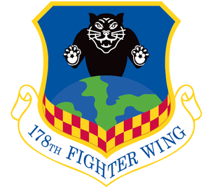 Springfield Air National Guard Base - Image: 178th Fighter Wing