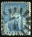 1872ca 1d Barbados 7 Yv20 Mi17C SG52.jpg