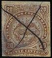 1882 20c Colombia pen YvTelegraphe9.jpg