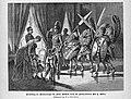 1888 Vorstellung bei Kaiser Wilhelm durch Otto Ehrenfried Ehlers sw.jpg