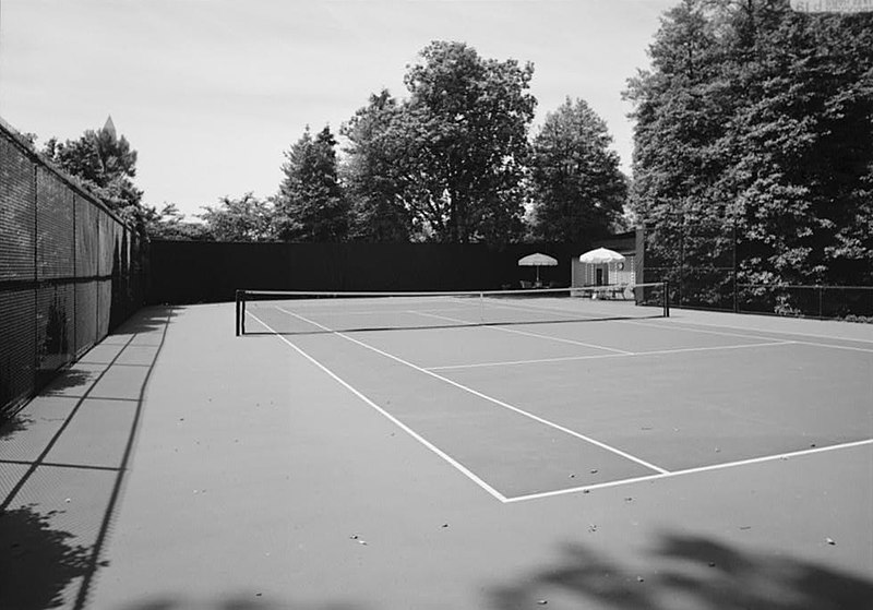 House Tennis Court Swimming Pool Gaming Room