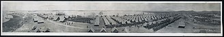 Guantánamo Bay - Image: 1911 panorama of Marines at Guantanamo
