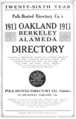 1913 Oakland California directory Polk Husted Directory Co.png