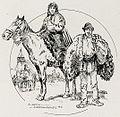 1916 - Albert Reich - Transilvania, tarani romani mergand la targ, Sibiu p13.jpg