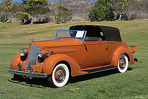 Packard One-Twenty - 1936 Packard 120 Convertible Victoria by LeBaron