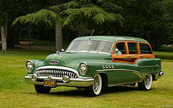 Buick Roadmaster Serie 70 Estate Wagon (1953)