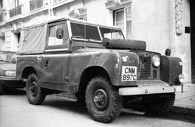Archivo:1959 Land Rover Series II front q.jpg