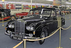 1960 Rolls-Royce Phantom V James Young Sedanca Deville.JPG