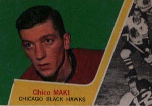 Chico Maki - Image: 1963 Topps Chico Maki