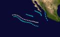 1964 Pacific hurricane season summary.png