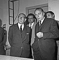 1966 visite de Mr Edgar Faure sénateur du Jura au CNRZ-13-cliche Jean Joseph Weber.jpg