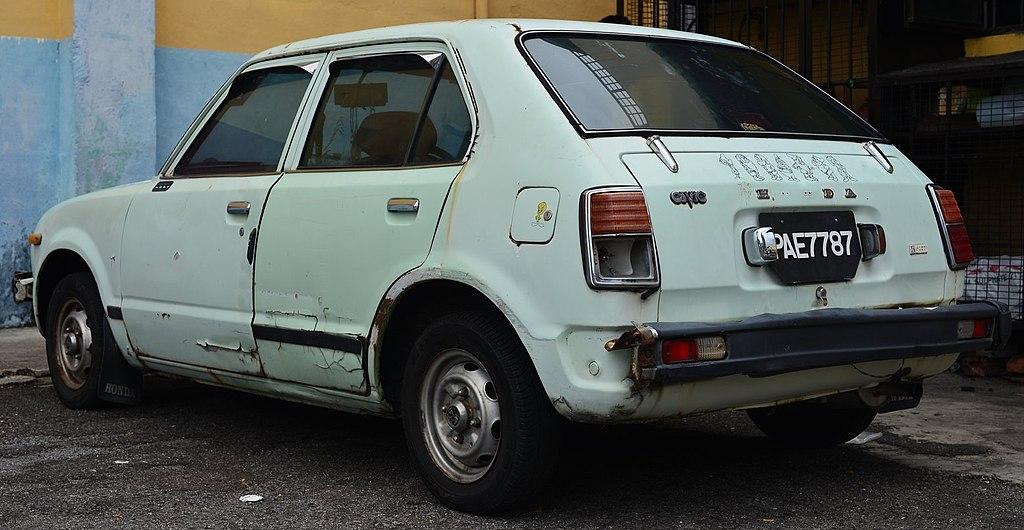 Build A Honda >> File:1973-79 Honda Civic in Georgetown, Penang (01).jpg - Wikimedia Commons