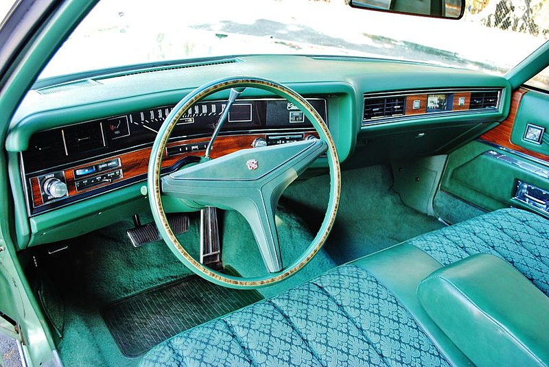 File 1973 Cadillac Sedan Deville Interior3 Jpg Wikimedia