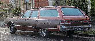 Chrysler Town & Country (1941–1988) - Rear view