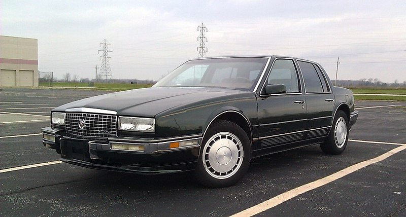 File:1991 Cadillac Seville STS.jpg - Wikimedia Commons