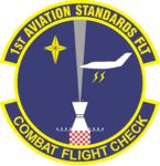1 Aviation Standards Flt emblem.png