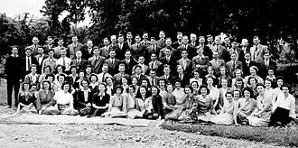 Watchtower Bible School of Gilead - First class of Watchtower Bible School of Gilead in 1943.