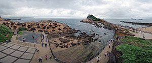 Han Taiwanese - Yehliu (野柳, Iá-Liú in Minnan), a scenic area in northern Taiwan. Its name came from the Castilian name given by the Spaniards, Punto Diablos, which means 'Cape Devils'.